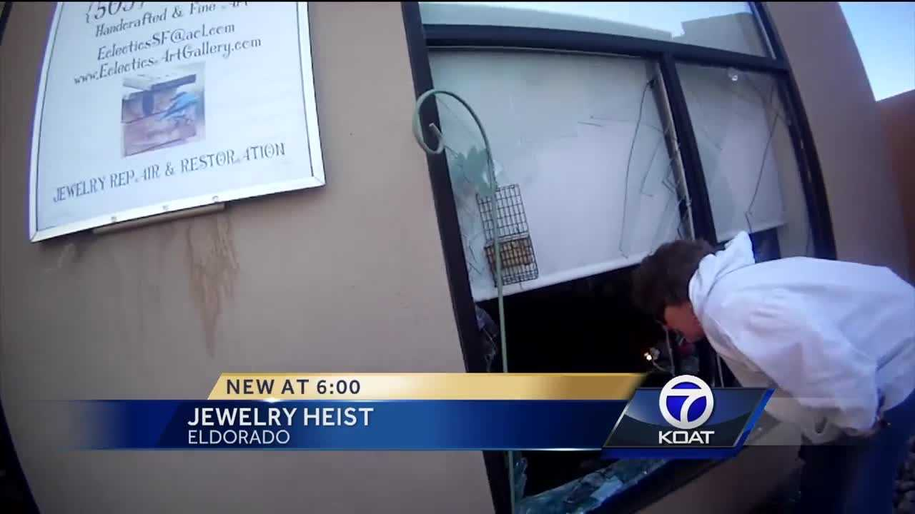Two men face charges after an 80-thousand dollar jewelry heist in Eldorado.