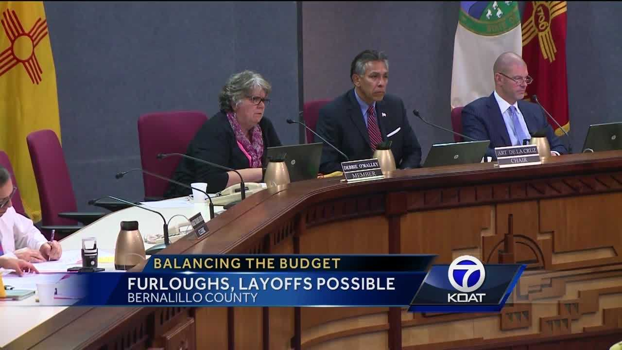 Bernalillo County commissioners are trying to balance the budget, they're facing a 17.7 million dollar gap.