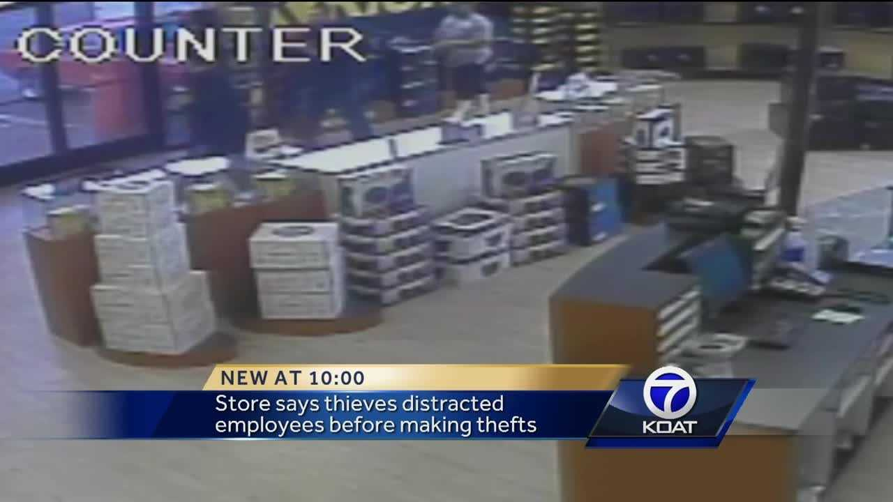 Thieves steal speakers, security system from car audio shop