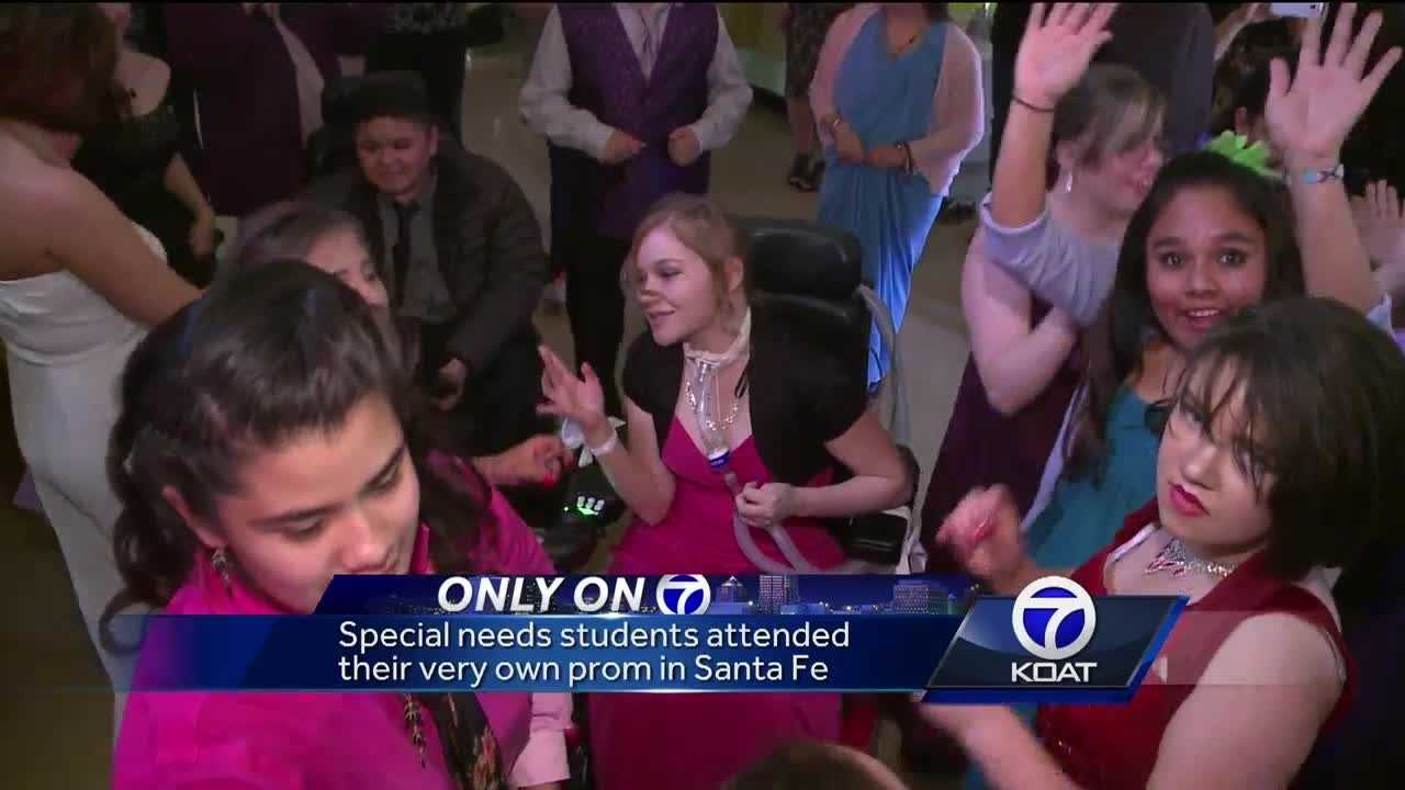 A special needs prom took place in Santa Fe, New Mexico. A night where they could forget about their disabilities and just have fun.