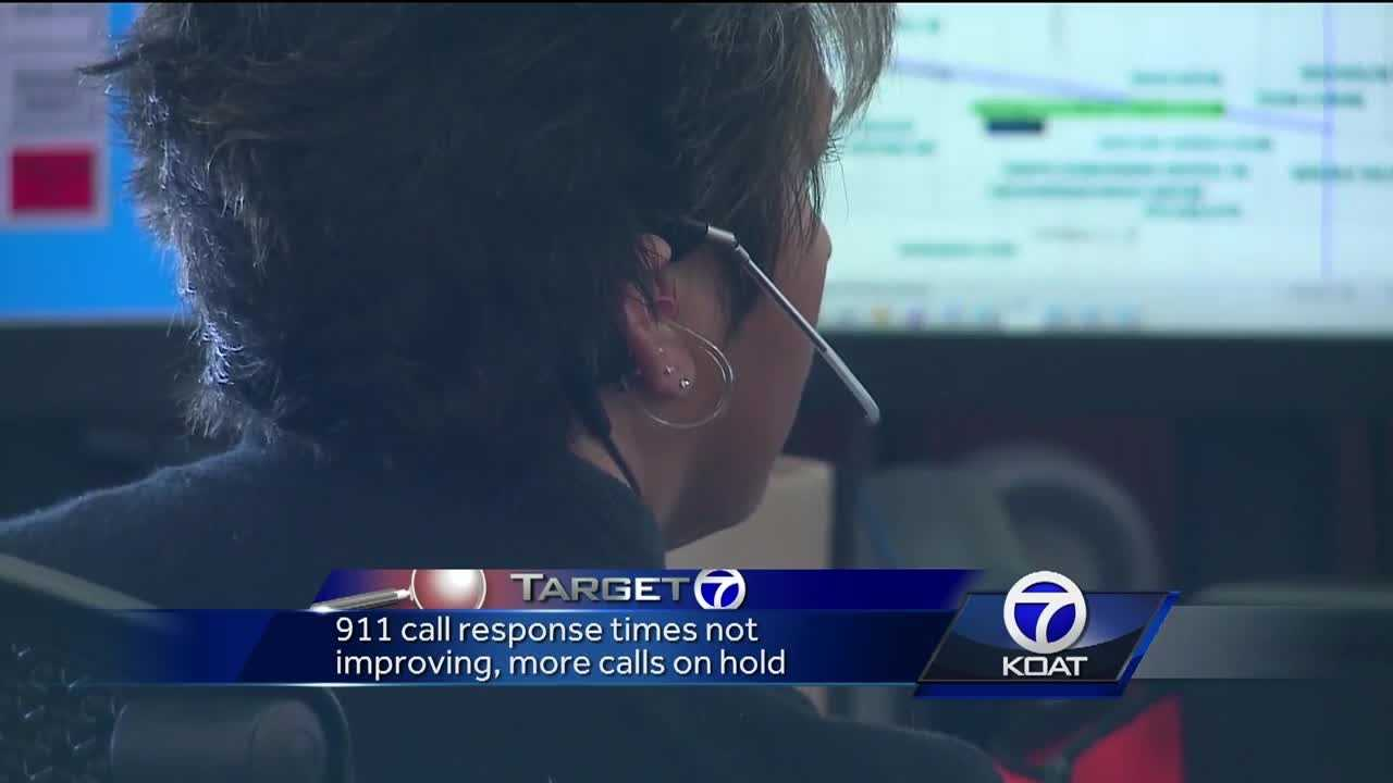 Call wait times are getting worse at Albuquerque's 911 Emergency Operations Center, and more people who answer the calls are walking out the door.