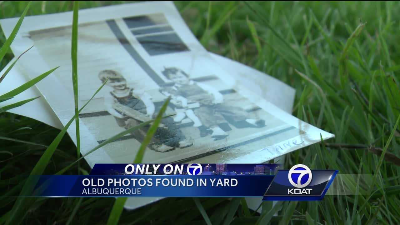 An Albuquerque woman is trying to solve a photo mystery.
