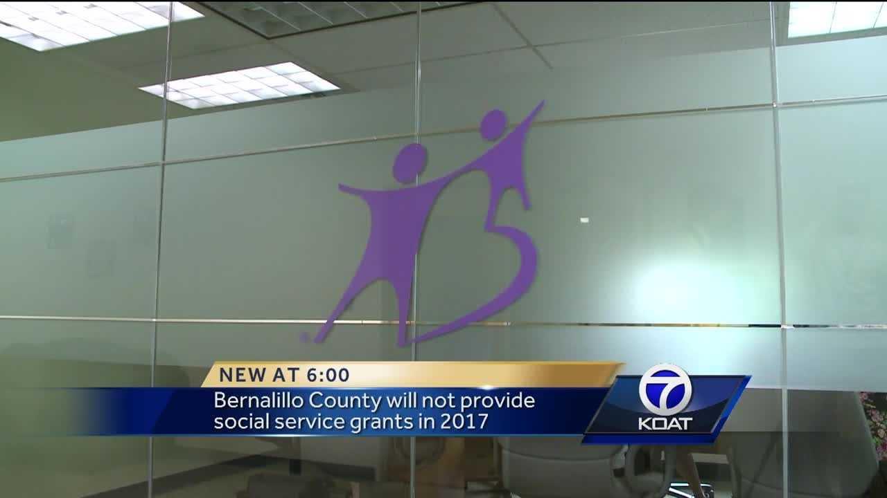 Bernalillo County will not provide social service grants in 2017