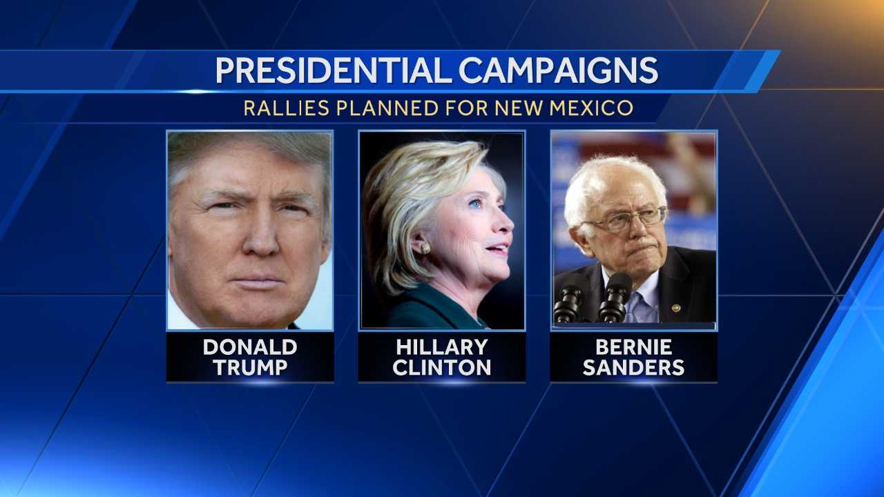 Within the week, the Clinton, Sanders and Trump presidential campaigns will take the stage in New Mexico as early voting for the state's primary kicks off.