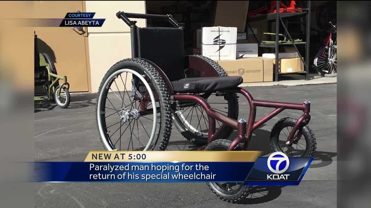 Missing Wheelchair