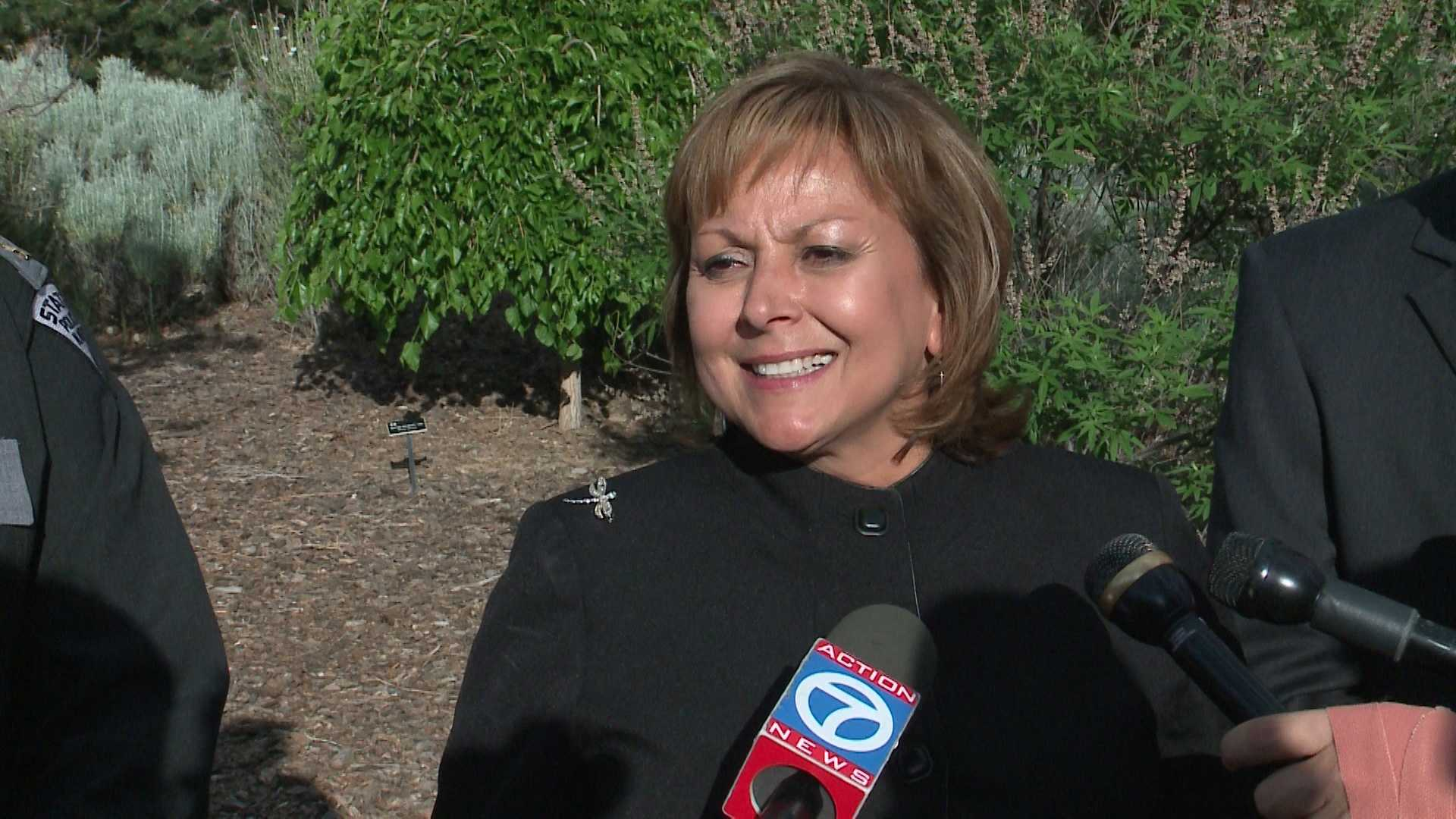 Gov. Martinez says she's not bothered by Trump's insults