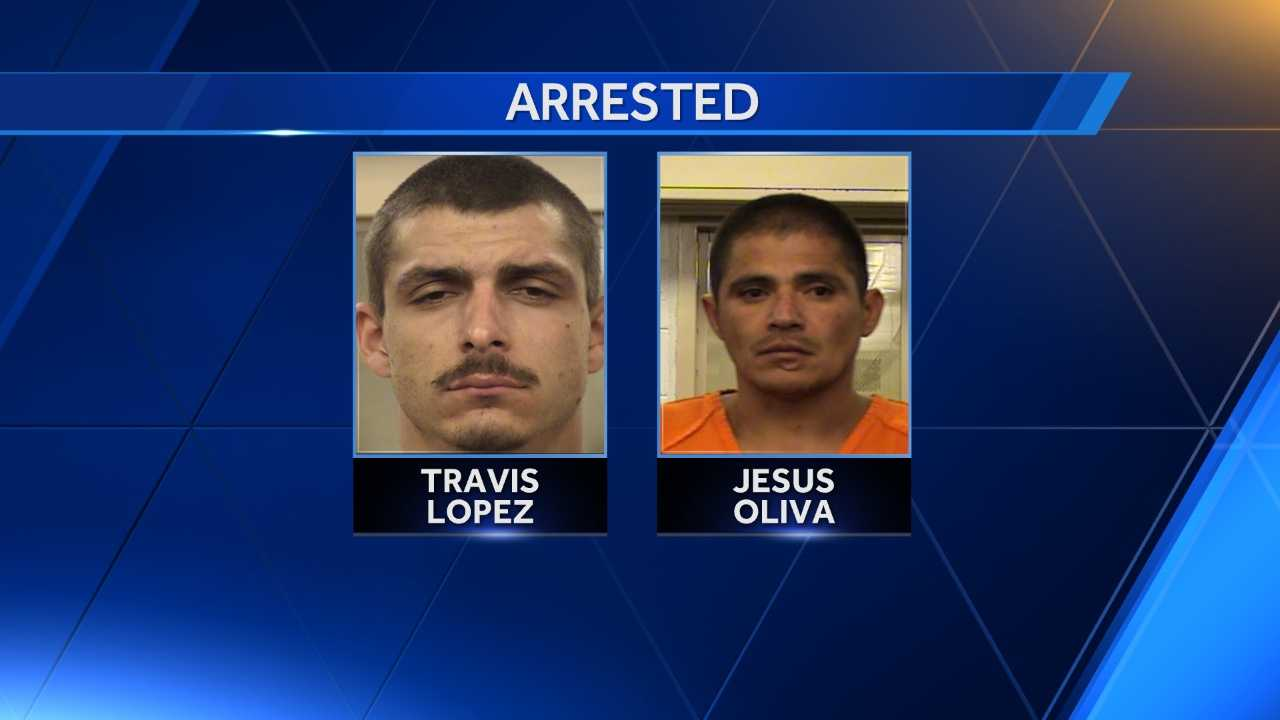 Albuquerque police arrested two people Saturday after police spotted a stolen vehicle.