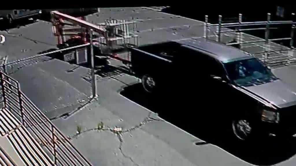 A-1 theft, truck