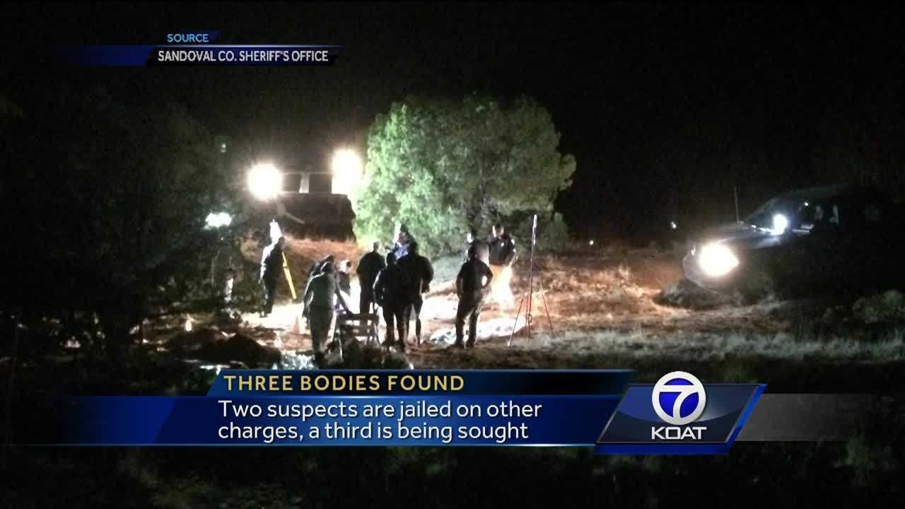 Deputies say bodies are tied to bloody truck they found in March.