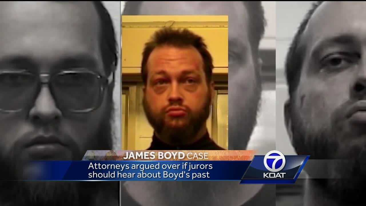 Attorneys argued over if jurors should hear about Boyd's past.