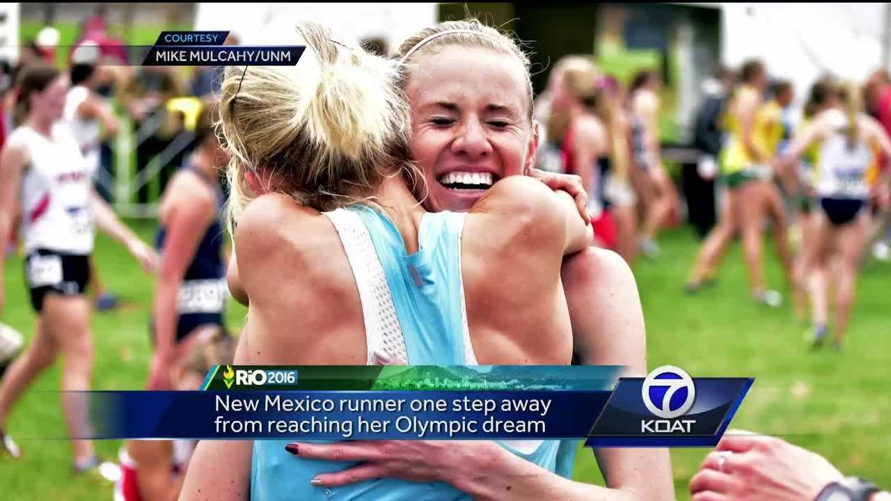 New Mexico track star at Olympic qualifiers
