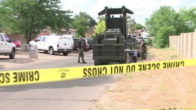 Shooting suspect in SWAT standoff in Rio Rancho