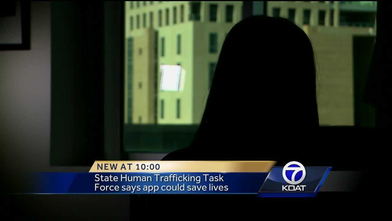 Phone app designed to help police and curb human trafficking.