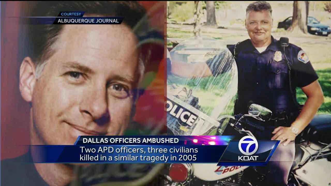 Two APD officers, and three civilians were killed in a similar tragedy in 2005.