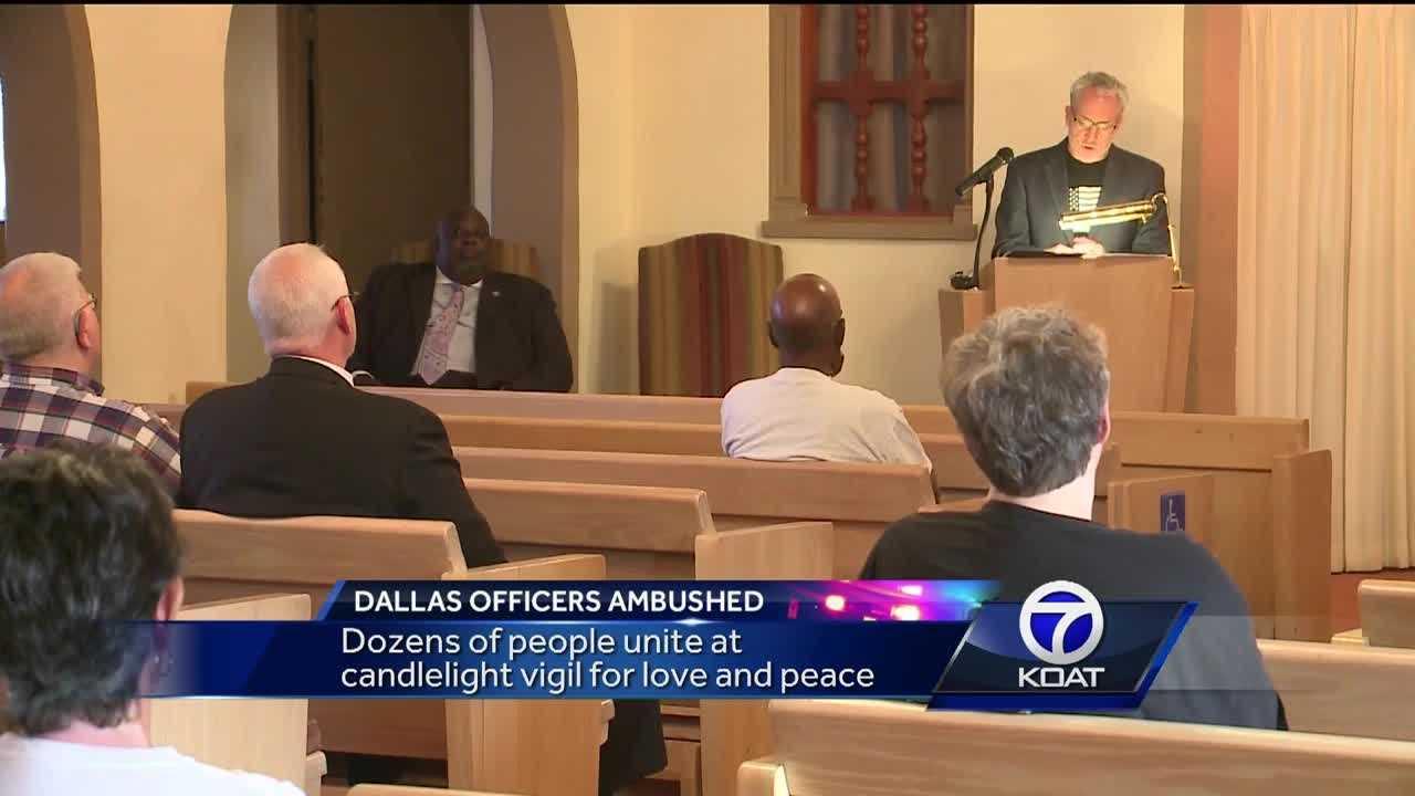 ABQ Vigil For Dallas
