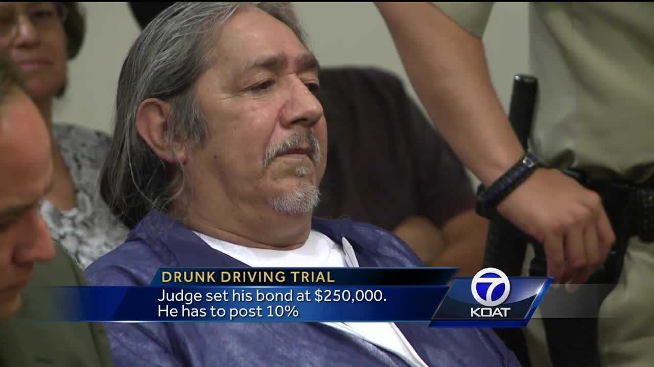 Drunk driving trial