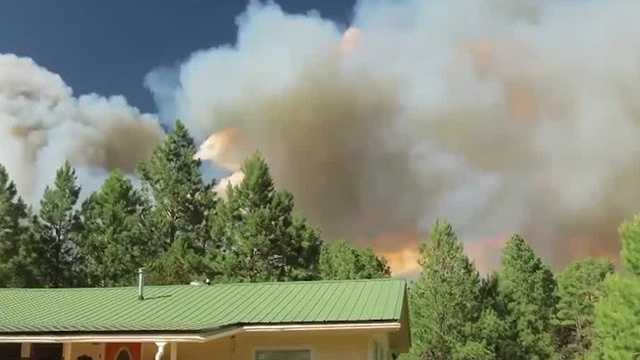 Timberon Fire now 40 percent contained