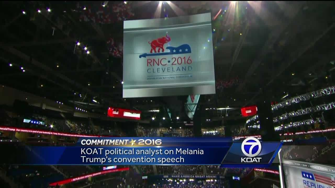 The Republican National Convention in Cleveland is officially underway and the prime time speaker for Monday night is Melania Trump.