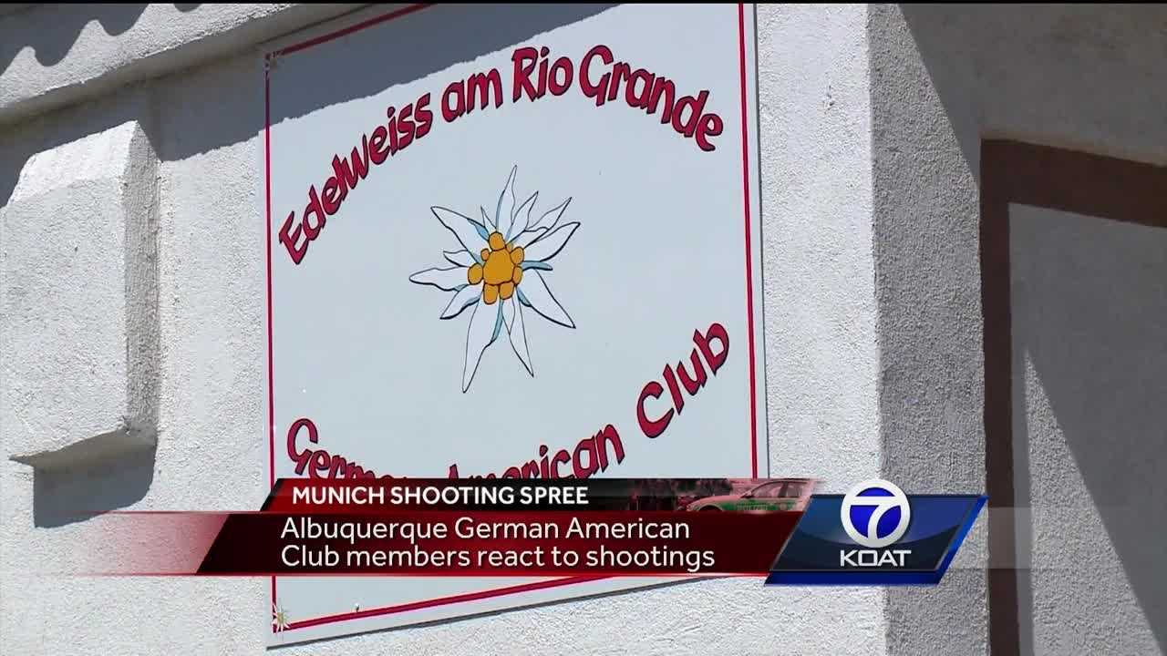Some Albuquerque-area German-Americans are grieving after the attack in their native land.