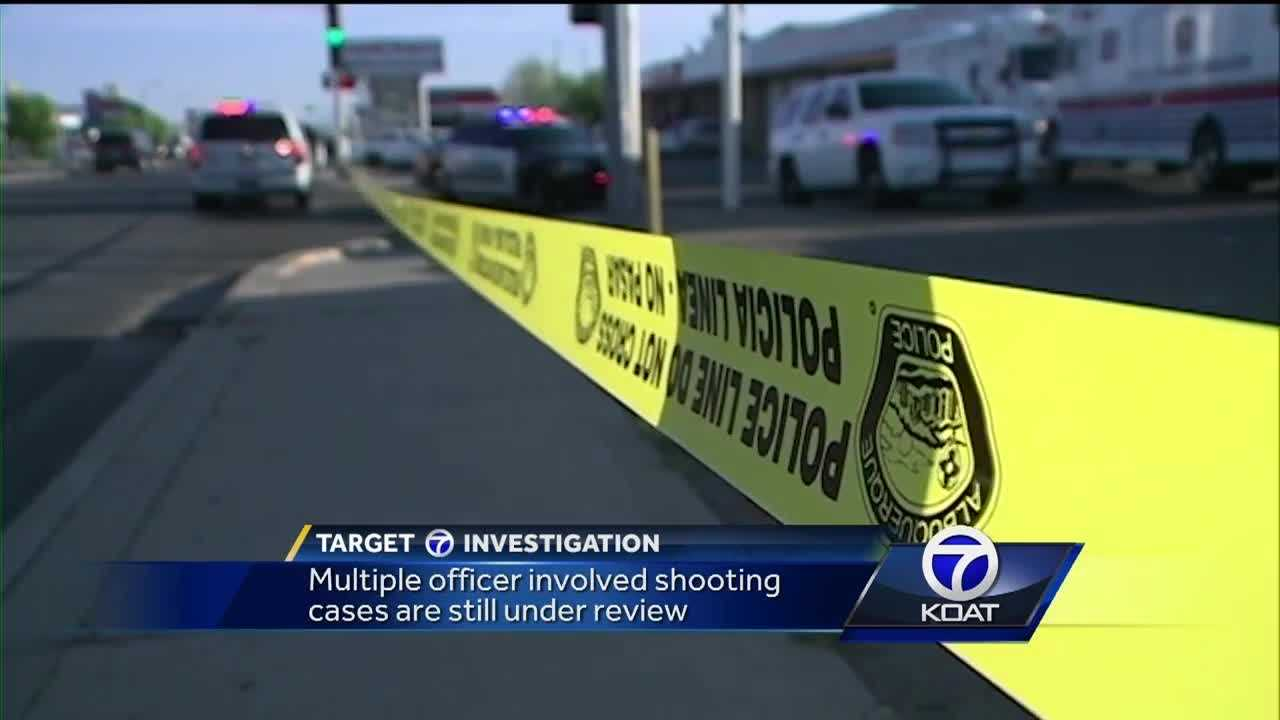 Multiple officer involved shooting cases are still under review.