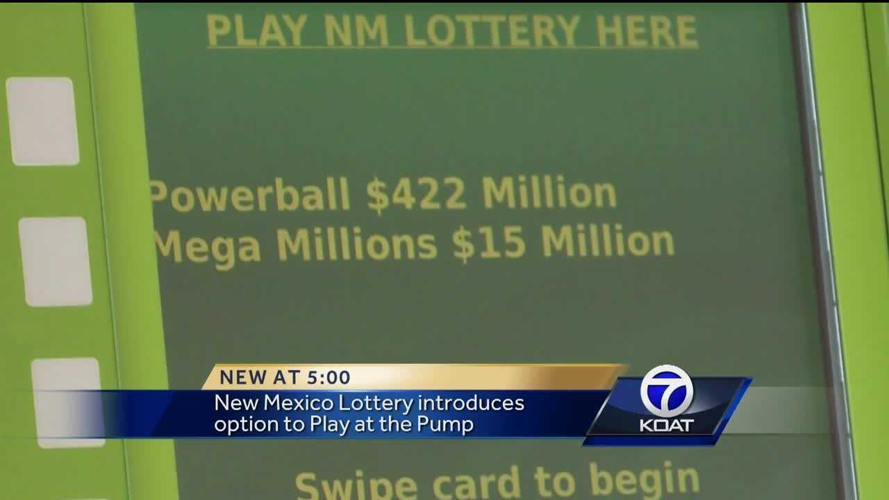 New Mexico Lottery introduces the option to 'Play at the Pump' and said four other states already use a similar system.