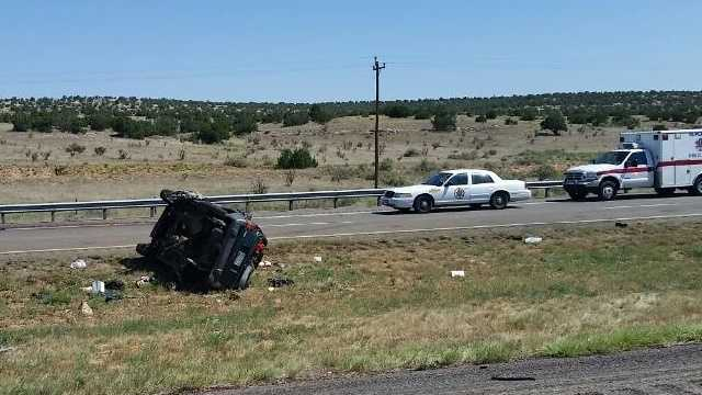 Man ejected in fatal crash on I-40 near Edgewood