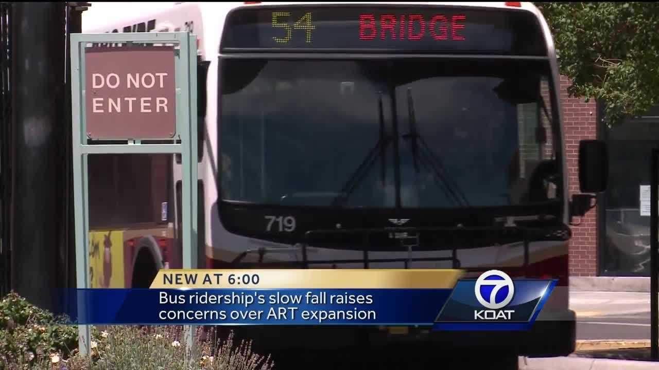 Bus ridership revenues fall, concerns over ART expansion rise