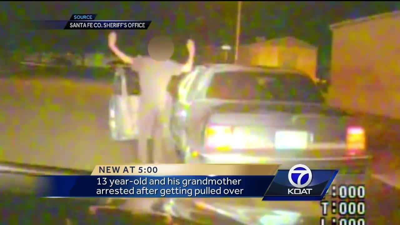 Dramatic footage shows a Santa Fe County Sheriff's Deputy pulling over an erratic driver heading west on Airport Road. Once the vehicle stops the deputy finds not the potentially impaired adult he expected, but instead, a 13-year-old child that may be drunk himself.