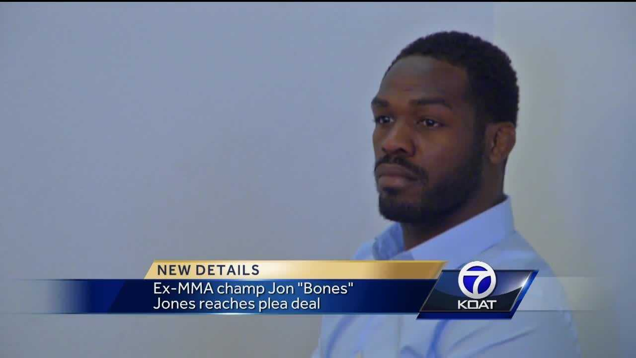 "Jon ""Bones"" Jones was accused of drag racing earlier this year. He pleaded guilty to revving his engine and obscuring a license plate."