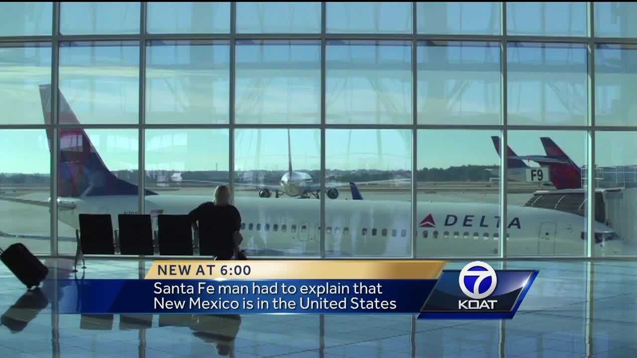 A man from Santa Fe tried making changes to his flight to Pennsylvania and was referred to the Delta Airlines office in Mexico.