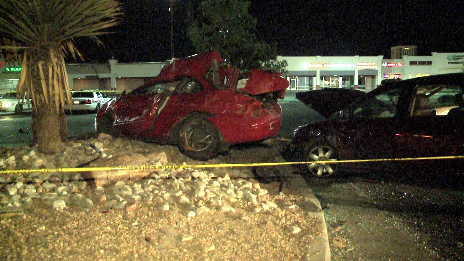 Crash at San Pedro near Central on Saturday
