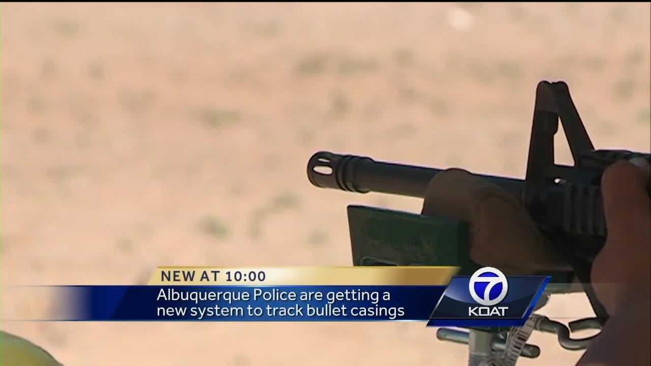 Albuquerque Police are getting a new system to track bullet casings.