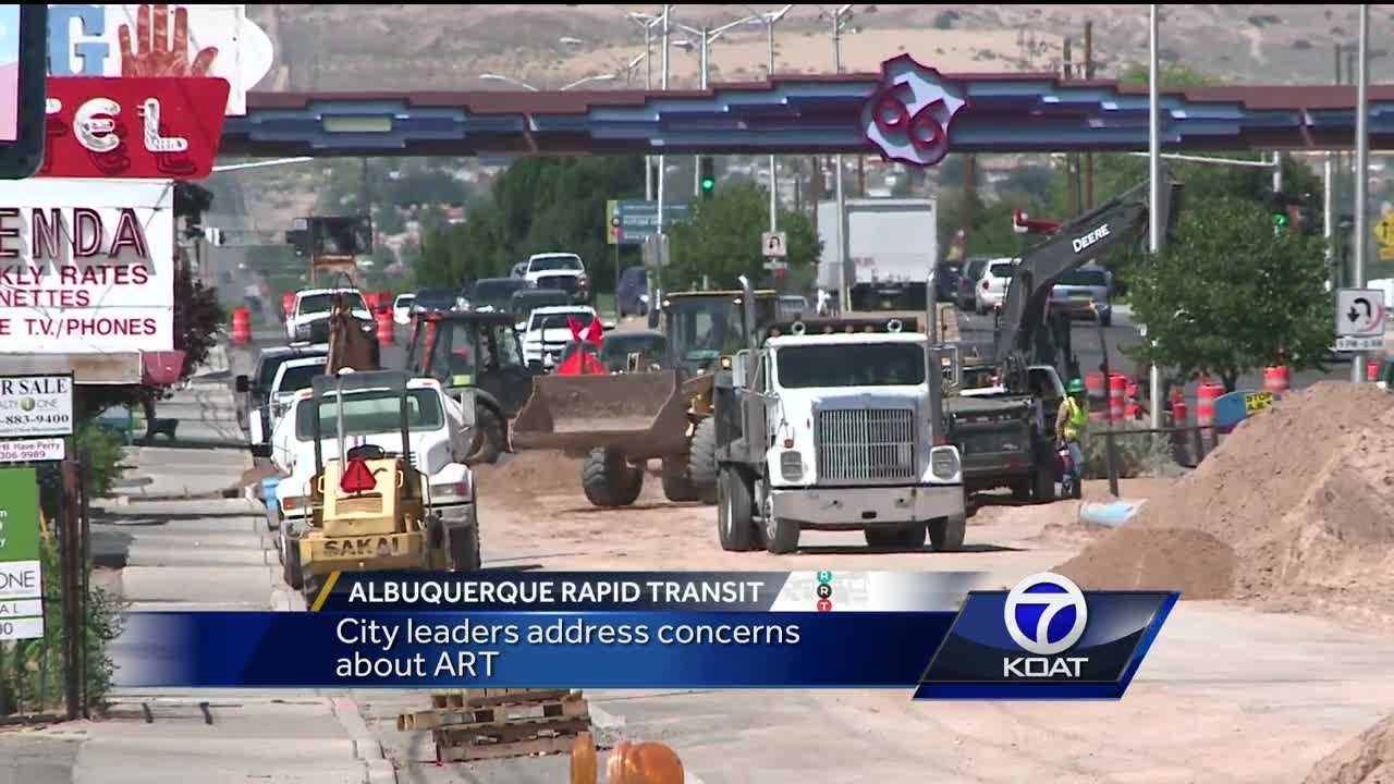 Businesses along Central Avenue claim business is down 20 to 25 percent because of construction. The Water Authority is repairing old pipes near the entrance of some business entrances. The Water Authority stated the construction is not part of the proposed Albuquerque Rapid Transit Project but businesses still aren't happy.