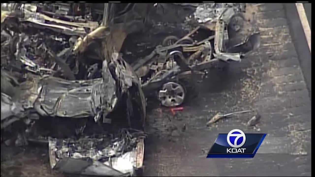 Double fatal crash on Highway 550