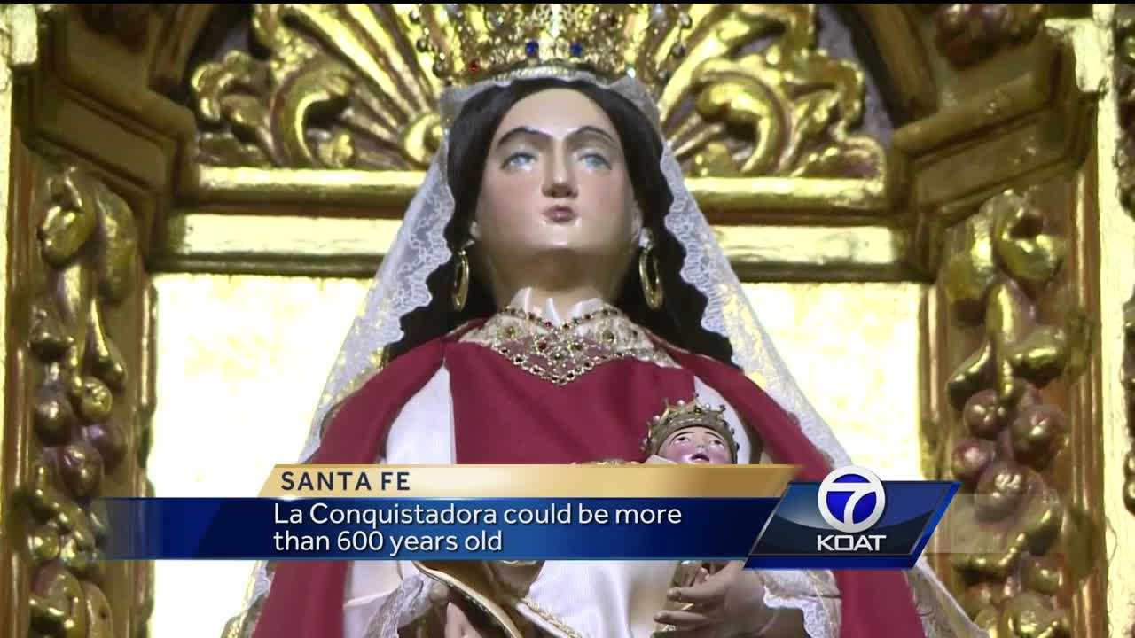 La Conquistadora is a statue of the Virgin Mary that was brought to Santa Fe in the 1600s. She's become an object of devotion for many, including one man fighting his own demons, he said she answered his prayer.