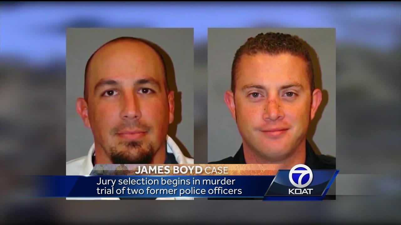 Jury selection begins in murder trial for two former officers