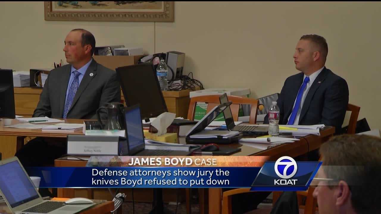 Attorneys on both sides painted two very different pictures of who James Boyd was. Prosecutors tried to tug at the jury's sympathy while defense attorneys described a violent man who was threatening to kill police.