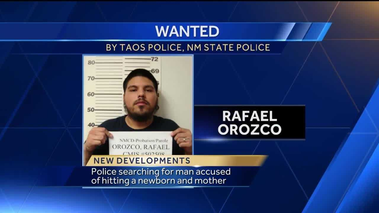 Police searching for man accused of hitting newborn and mother