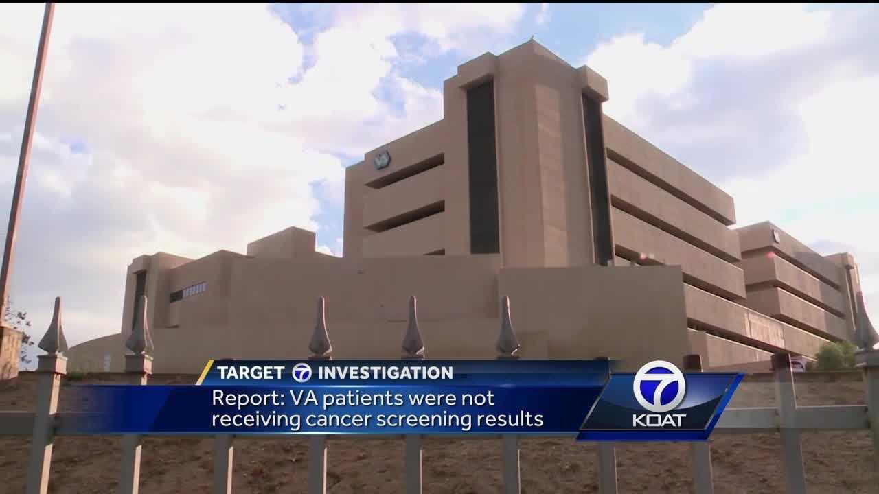 Report: VA patients were not receiving cancer screening results.