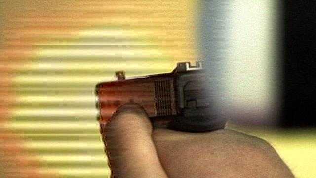 Gun Shooting Generic Stock - 26480260
