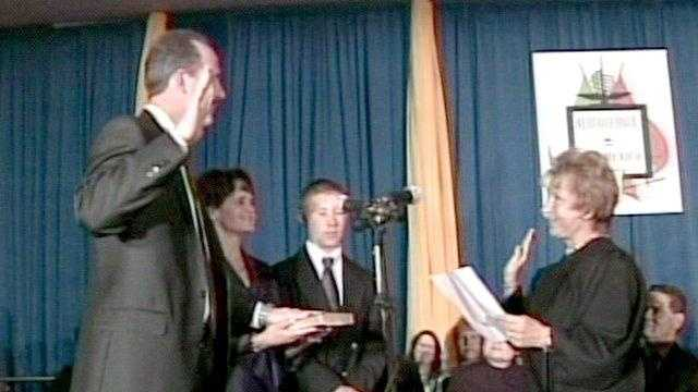 Richard Berry Sworn In