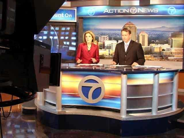Christine Jones and Mike Garafolo test drive the new set.
