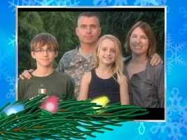 Col. Edward Manning and his family send their greetings from Stuttgart, Germany.