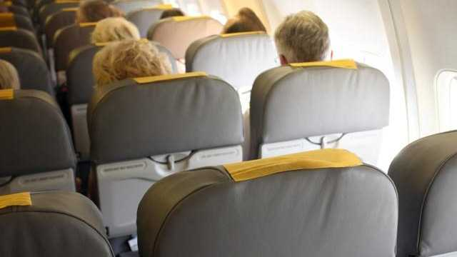 Airplane seats, airline, flight