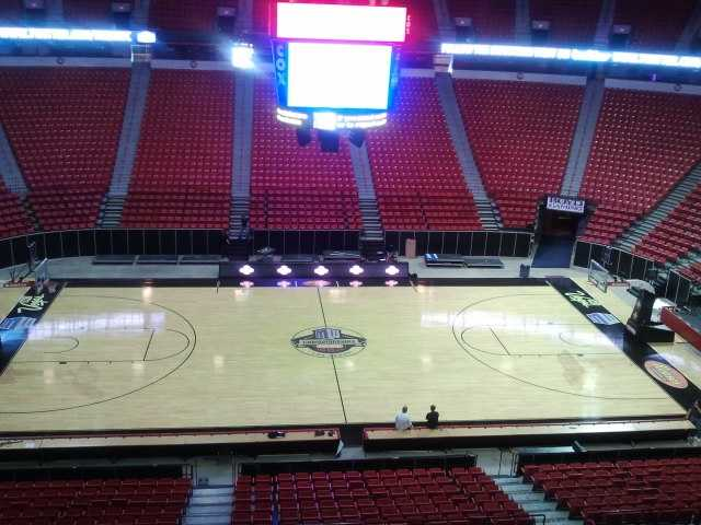 The Thomas and Mack Center is where the Mountain West tournament is played each season.