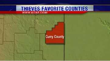 15. Curry County had 106 reports of property crime.
