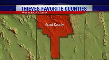 14. Grant County had 149 reports of property crime.