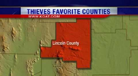 16. Lincoln County had 97 reports of property crime.