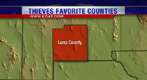 11. Luna County had 174 reports of property crime.