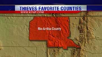 19. Rio Arriba County had 81 reports of property crime.